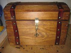 DIY Treasure chest for Birthday Scavenger Hunt