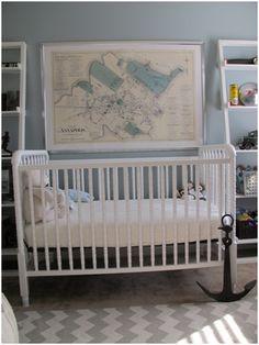 PN Anchor   #projectnursery #franklinandben #nursery