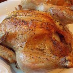 Best of Both Worlds Roast Chicken - Allrecipes.com