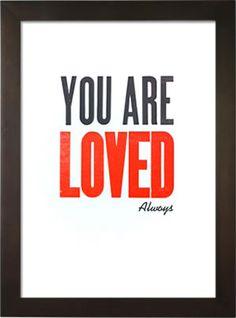 Neat Valentine Letterpress Poster