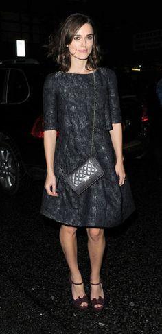 Keira Knightley. Chanel Little Black Jacket
