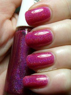 GlitterDaze Winter 2014 - Seven New Holos! - Pop-pink Bubbly
