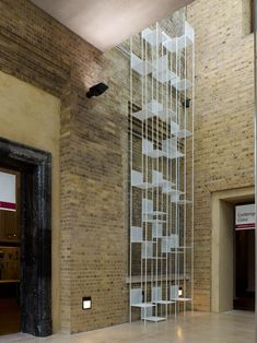 mimicry chair installation at london V museum ::: by nendo