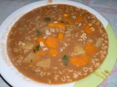 Receita de Sopa de Feijão com Macarrão - Tudo Gostoso