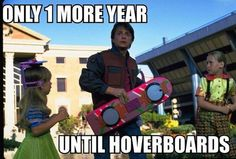 Unrealistic expectations brought about by back to the future 2015 lol