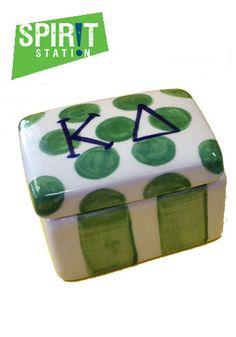 Kappa Delta Rectangle Jewelry Box