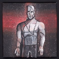 Frankenstein's Monster #4 in the Halloween Series