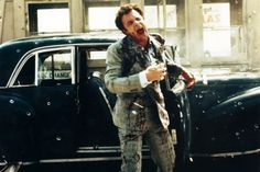 Little known fact: they used hundreds of bullets for Sonny's death. When a half-dozen men rise up with tommy guns, Caan exudes the horrific pain of being hit by hundreds of bullets as 400-plus squibs attached to his body, the car and the tollbooth explode on cue. The scene required 3 days, and technicians and explosives cost $100,000.