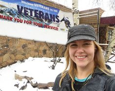 FCA's Family Counselor, Christina Irving at a recent Colorado event for Caregivers of Veterans