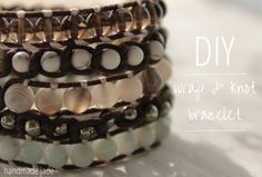 DIY Wrap & Knot Bracelet