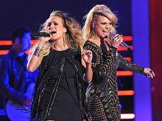 "VIDEO: CMT Awards 2014: Carrie Underwood & Miranda Lambert ""Somethin' Bad"". This is good!"