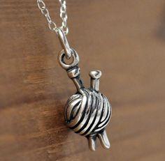Yarn Necklace $16