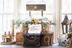 Vintage typewriter w