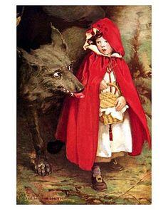 Jessie Wilcox Smith ~ Little Red Riding Hood