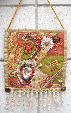 Crazy Quilt Wall Hanging