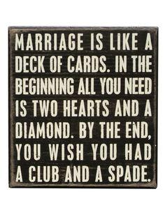 Marriage is like..... LOL