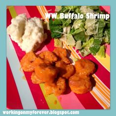 Working on My Forever: Weight Watchers Buffalo Shrimp!