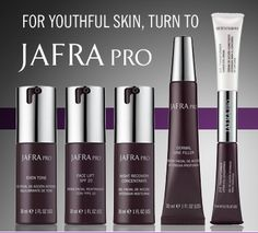 "Women do have the ability to take charge of their skin, and the earlier the better. JAFRA PRO Products work with dedicated use.  I have seen the results and this is why my name and reputation are behind JAFRA PRO.  It is the best maintenance and recovery system for women who don't want surgery or want to delay it.""  By Dr. Randal Haworth, M.D.., F.A.C.S."
