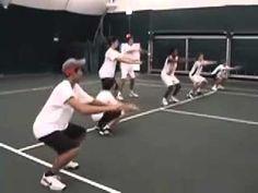Tennis: Training, Drills, Footwork & Exercise