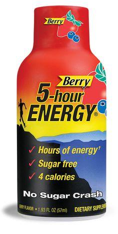 Mom's favorite 5-hour ENERGY® flavor