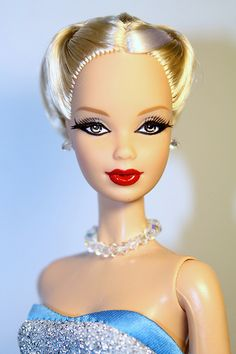 WOW, what a make over!  Barbie Steffie Head Mold