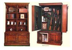 The Miller: Hidden Gun Cabinet Books and guns in one spot? I'm in!