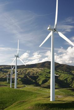 Windfarms, and other future energy sources.