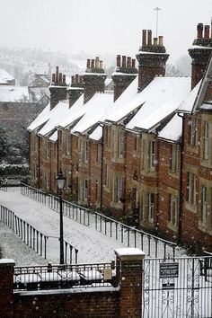 England in snow