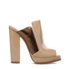 Love a stylish mule shoe