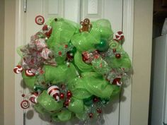 Looks like the Grinch's wreath, but it's pretty