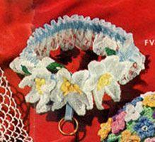 Gladiola flower to crochet