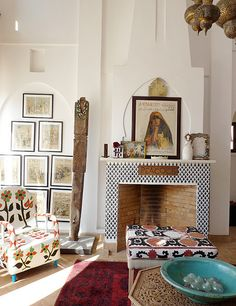 Photography: Holly Becker - Riad in Morocco of Maryam Montague