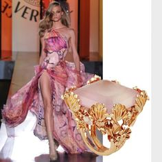 Versace Couture Luxury Fine Jewelry (Catwalk)