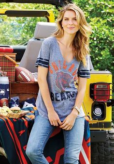 It's football season! Look cute while supporting your team. No more boxy boy cut apparel!