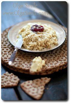 Pasta z ciecierzycy i parmezanu - przepis | Olga Smile.com