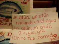The Slippery Fish song en espanol (una sardina)