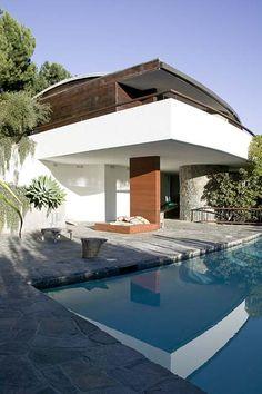 Schwimmer House by John Lautner