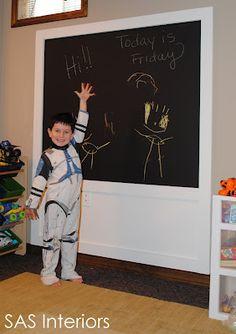 Easy DIY: Creating a Chalkboard Wall