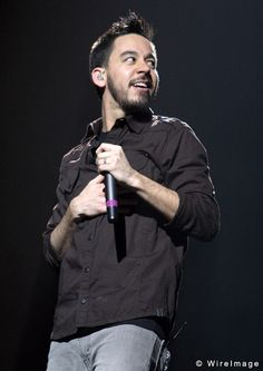 Mike Shinoda of Linkin Park and Fort Minor.He is so fine to me.