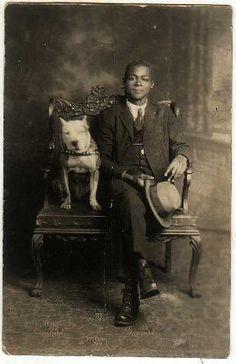 pitti pic, dapper gentleman, vintage photos, vintag photo, pit bulls, america dog, studio portraits, vintag pitti, old photos