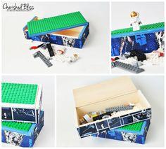 cherishedbliss.com - Travel Lego Box #lego #storage