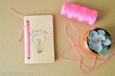 DIY Cricut Explore Leather Notebook_1
