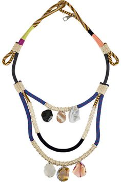 Proenza rope necklace