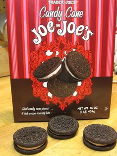 Make your own candy cane Joe-Joes