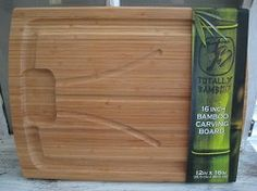 16 inch bamboo cutting board #FCThankful