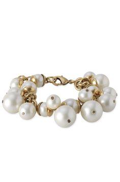 Stella & Dot Daphne Pearl Bracelet