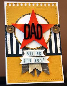 Best Dad card, masculin