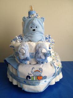 Large Gerber diaper cake