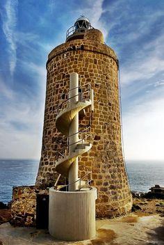 Faro de Camarinal, Zahara de los Atunes, Cádiz, Spain.