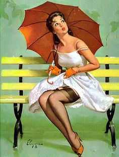 TITLE: Queen's Rain  DATE: 1962  NOTES: Publisher: Brown & Bigelow.